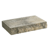 Tan Charcoal Basic Concrete Retaining Wall Cap (Common: 12-in x 2-in; Actual: 12-in x 2-in)