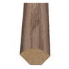 Style Selections 1-in x 94-in Light Brown Oak Woodgrain Quarter Round Floor Moulding
