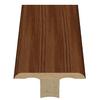 Style Selections 1.75-in x 94-in Brown Oak Woodgrain T-Floor Moulding