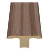 Style Selections 1.75-in x 94-in Light Brown Oak Woodgrain T-Floor Moulding