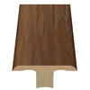 Style Selections 1.75-in x 94-in Brown Hickory Woodgrain T-Floor Moulding