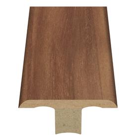 Style Selections 1.75-in x 94-in Light Brown Woodgrain T-Floor Moulding