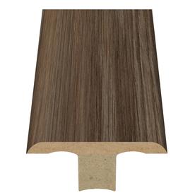 Style Selections 1.75-in x 94-in Grey Oak Woodgrain T-Floor Moulding