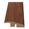 Style Selections 2.15-in x 94-in Brown Walnut Woodgrain Reducer Floor Moulding
