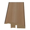 Style Selections 2-3/16-in x 94-in Light Maple Woodgrain Reducer Moulding