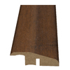 Style Selections 2-3/16-in x 94-in Light Brown Exotic Woodgrain Reducer Moulding