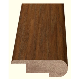 Style Selections 2.37-in x 94-in Brown Hickory Woodgrain Stair Nose Floor Moulding