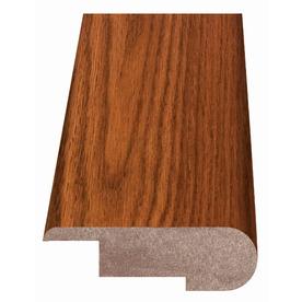 Style Selections 2.37-in x 94-in Brown Oak Woodgrain Stair Nose Floor Moulding