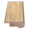 Style Selections 2.37-in x 94-in Dark Brown Hickory Woodgrain Stair Nose Floor Moulding