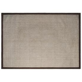 allen + roth Brown Rectangular Indoor Woven Area Rug (Common: 8 x 11; Actual: 96-in W x 126-in L)