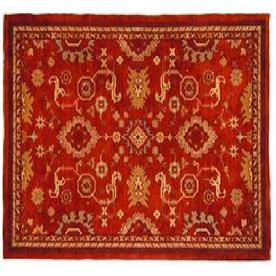 "allen + roth 2'3"" x 3'9"" Red Marinella Accent Rug"