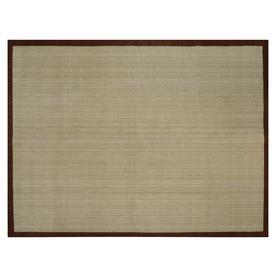 allen + roth Northbridge Brown Rectangular Indoor Woven Area Rug (Common: 9 x 12; Actual: 108-in W x 144-in L)