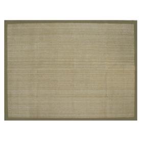 allen + roth Northbridge Maple and Aqua Rectangular Indoor Woven Area Rug (Common: 8 x 11; Actual: 96-in W x 126-in L)