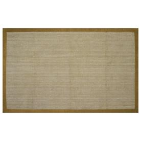 allen + roth Private Party 5-ft x 7-ft 9-in Rectangular Beige Border Area Rug