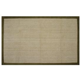 allen + roth Northbridge New Gold Rectangular Indoor Woven Area Rug (Common: 5 x 8; Actual: 60-in W x 93-in L)