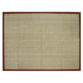 allen + roth Northbridge Tropical Red Rectangular Indoor Woven Area Rug (Common: 8 x 11; Actual: 96-in W x 126-in L)