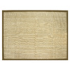 allen + roth Private Party 8-ft x 10-ft 6-in Rectangular Beige Border Area Rug
