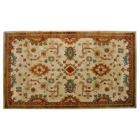 allen + roth Marinella 5-ft x 7-ft 9-in Rectangular Beige Transitional Area Rug