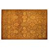 allen + roth Marinella 8-ft x 10-ft 6-in Rectangular Brown Transitional Area Rug