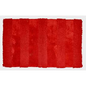 allen + roth Allen + Roth 30-in x 50-in Rectangular Red Accent Rug