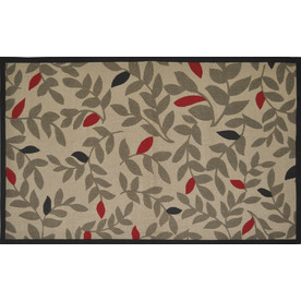 Style Selections Rectangular Indoor Woven Throw Rug (Common: 2 x 4; Actual: 30-in W x 50-in L)