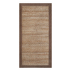 allen + roth Latte Rectangular Indoor Braided Throw Rug (Common: 2 x 4; Actual: 24-in W x 48-in L)