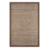 allen + roth Latte Rectangular Indoor Braided Area Rug