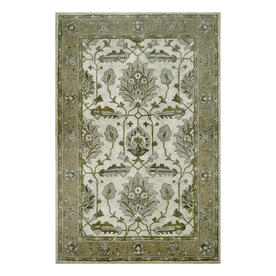 allen + roth Multicolor Rectangular Indoor Tufted Area Rug (Common: 5 x 8; Actual: 60-in W x 90-in L)