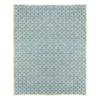 allen + roth Blue Rectangular Indoor Woven Area Rug