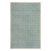 allen + roth Blue Rectangular Indoor Woven Area Rug