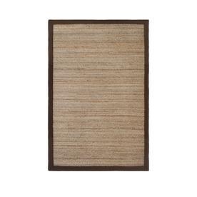 allen + roth Witham Espresso Rectangular Indoor Braided Area Rug (Common: 5 x 8; Actual: 60-in W x 90-in L)