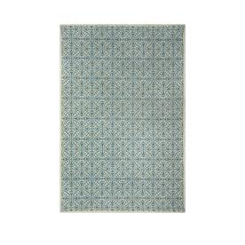 allen + roth Maysburg Blue Rectangular Indoor Woven Area Rug (Common: 9 x 12; Actual: 108-in W x 144-in L)