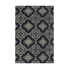 Style Selections Blue Rectangular Indoor Woven Area Rug