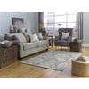 allen + roth Gray Rectangular Indoor Woven Area Rug (Common: 8 x 10; Actual: 96-in W x 120-in L)