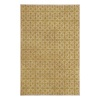 allen + roth Maysburg Gold Rectangular Indoor Woven Area Rug