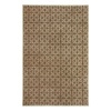 allen + roth Maysburg Taupe Rectangular Indoor Woven Area Rug