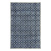 allen + roth Maysburg Navy Rectangular Indoor Woven Area Rug