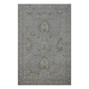 allen + roth Southminster Grey Rectangular Indoor Hand-Hooked Area Rug