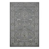 allen + roth Southminster Soft Blue Rectangular Indoor Hand-Hooked Area Rug