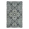 allen + roth Grey Medallion Rectangular Indoor Woven Throw Rug (Common: 2 x 4; Actual: 27-in W x 45-in L)