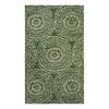 allen + roth Green Medallion Rectangular Indoor Woven Throw Rug (Common: 2 x 4; Actual: 27-in W x 45-in L)