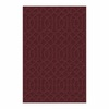 allen + roth Townlay Red Rectangular Indoor Tufted Area Rug (Common: 8 x 10; Actual: 96-in W x 120-in L)