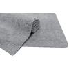 allen + roth 34-in x 20-in Light Gray Cotton Bath Mat