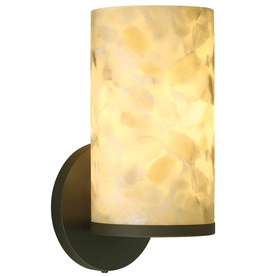 tiella 5-in W Onyx 1-Light Bronze Arm Wall Sconce