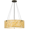 tiella 17-in Island Light with Onyx Shade