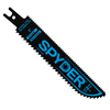 Spyder 3-Pack 6-in 10 TPI Bi-Metal Reciprocating Saw Blade Set