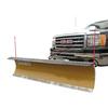 FirstTrax Personal Snowplow 90-in W x 24-in H Steel Snow Plow