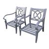 allen + roth Newstead Patio Conversation Chair