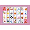 Concord Global Alphabet Dreams 3-ft 3-in x 4-ft 7-in Rectangular Multicolor Transitional Area Rug