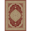 Concord Global Legend Red Rectangular Indoor Woven Oriental Area Rug (Common: 7 x 10; Actual: 79-in W x 114-in L x 6.58-ft Dia)